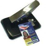 Furador ovóide para furar cartões de PVC