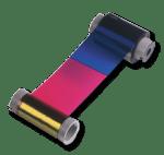 Ribbons coloridos e monocromáticos