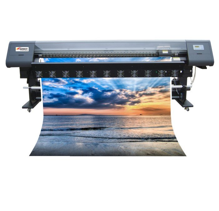 Infiniti Fina 250Q: impressora solvente
