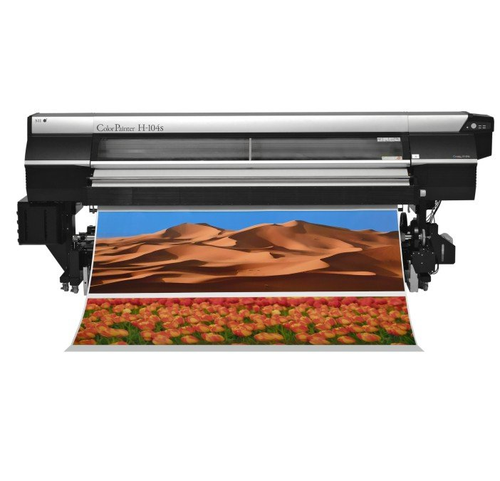 Seiko ColorPainter H2-74s: Impressora Solvente