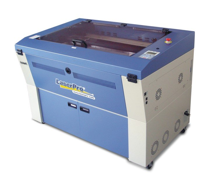 Spirit GLS: Corte e gravação a laser