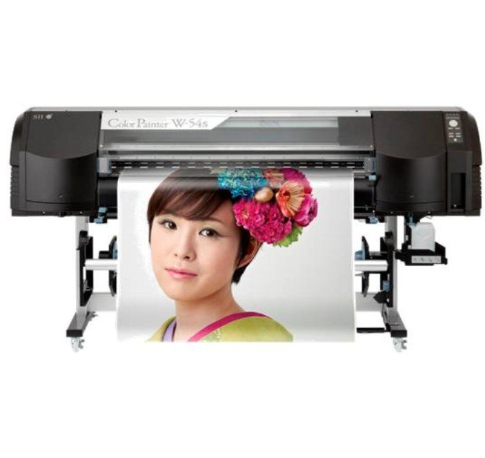 Seiko Colorpainter W-54S: Impressora Solvente