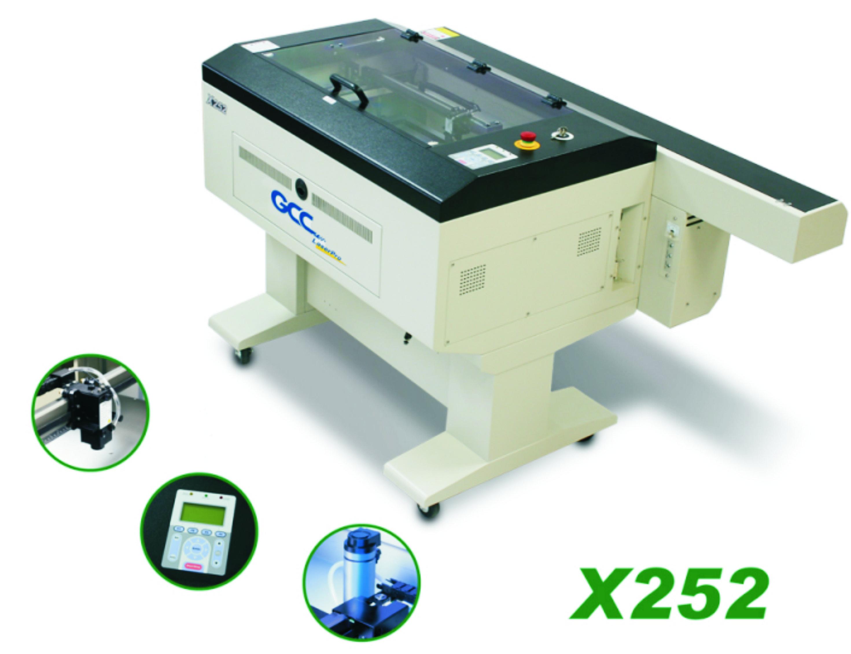 X252: Corte e gravação a laser