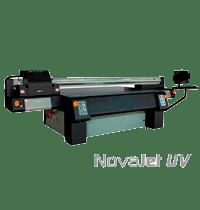 Novajet UV M6 com cabeças de impressão Ricoh Geração 5