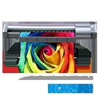 NOVAJET DX1080 modelo 1602: Impressora eco-solvente