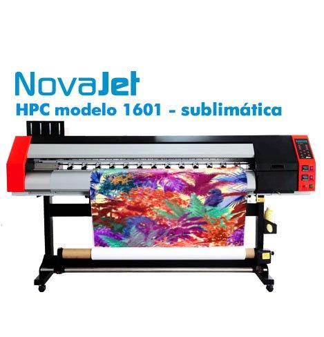 Novajet HPC modelo 1601: impressora de sublimação