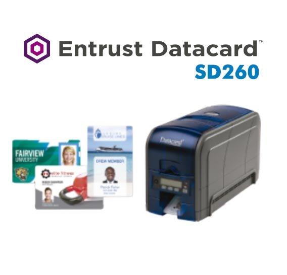 Datacard SD260: Impressora de cartão PVC