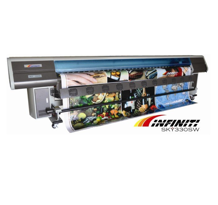 Infiniti SKY330SW: impressora solvente