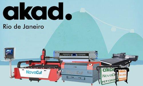 Com o intuito de dinamizar, incrementar e agilizar o suporte técnico e as vendas no Rio de Janeiro, a AKAD inaugura um escritório na região.